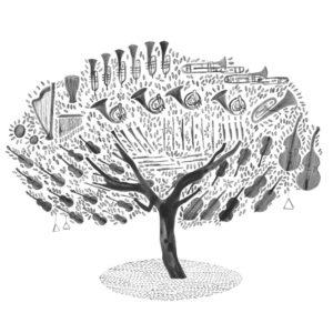 Orchestra Almond Tree - Hannah Bailey