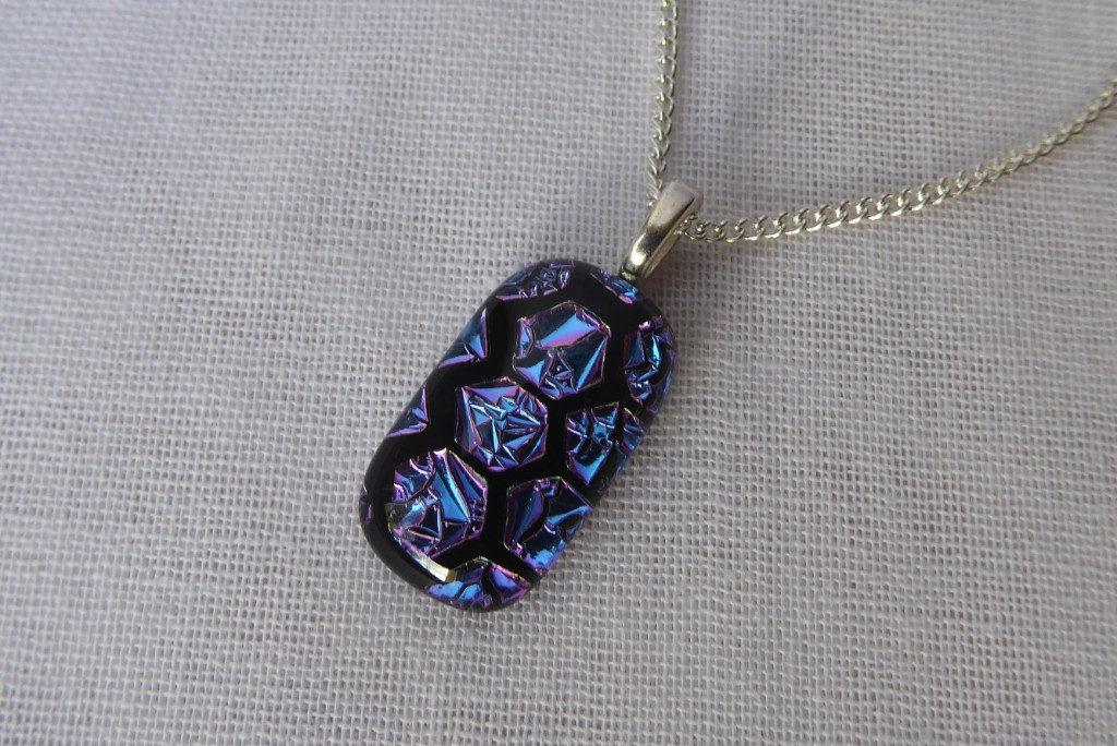 Honeycomb Pendant - Eva Glass Design